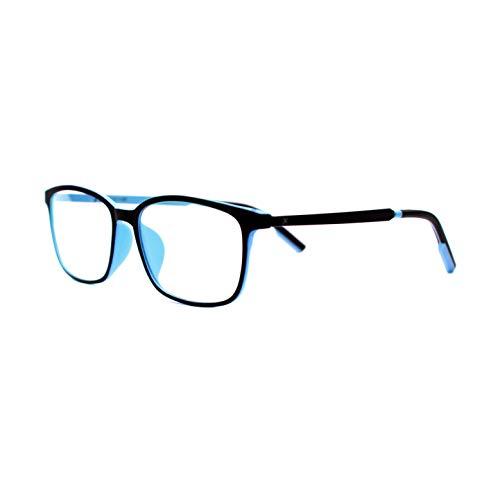 Pixel Lens Sky Gafas para Ordenador, TV, Tablet,Gaming. contra el cansancio Ocular, Confort Visual, Montura Ligera, Certificada luz Azul - 41% Y UV -100% en la Universidad de Turín