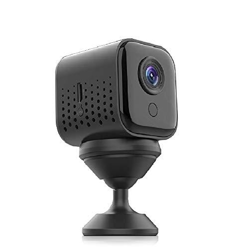 Mini Kamera, FHD 1080P Überwachungskamera Mini WiFi WLAN Kamera Kleine Tragbare Kabellose 300 Minuten Haltbar mit Nachtsicht, Bewegungserkennung, Remote View