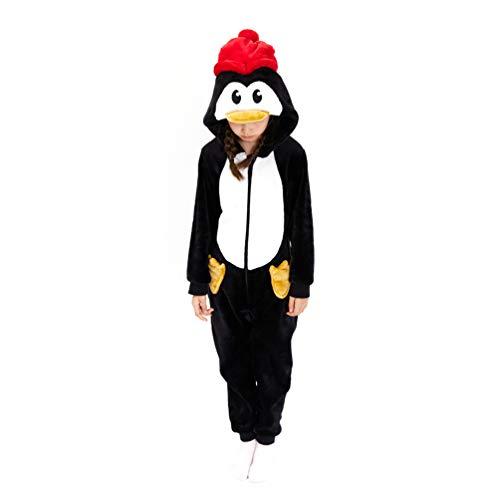 Kids Penguin Onesie, Child Penguin Pajama One Piece Animal Costume