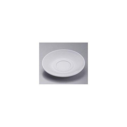 Arcoroc Hoterie Blanc - Platillo de café (6 unidades, 153 mm de diámetro, cristal opalino, 6 unidades), color blanco