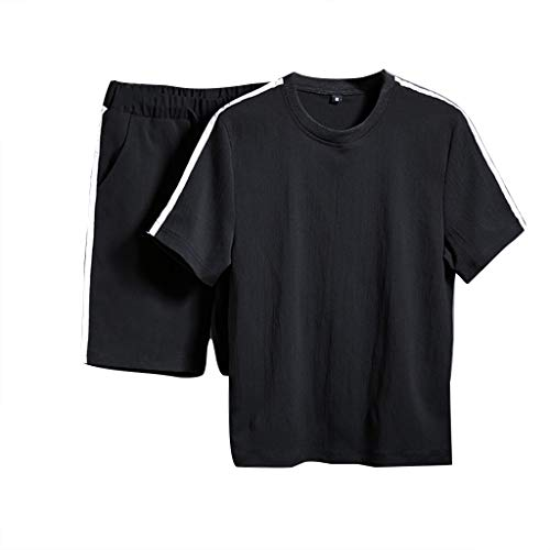 BoyYang ✿ Herren Fitness T-Shirt Shorts✿ Herren Short-Jogginganzug Shortanzug Sportanzug Short T-Shirt Sport Anzug