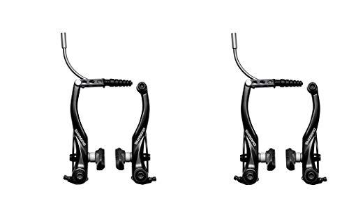 Shimano T4000 Alivio Linear V-brake Black Front and Rear Brakes