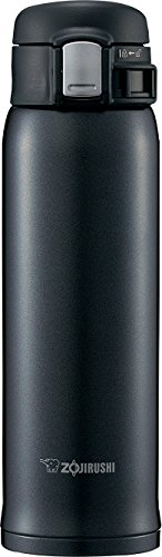 Zojirushi SM-SD48BC Stainless Steel Vacuum Insulated Mug, 16-Ounce, Silky Black