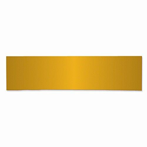 Best Birthday Gift 1 7/8 x 7 1/2 Brass Plates-Sets of 6
