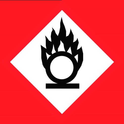 Có thể tăng cường lửa;  chất oxy hóa