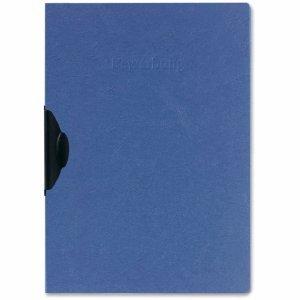 Herlitz 5 x Bewerbungshefter A4 Karton blau