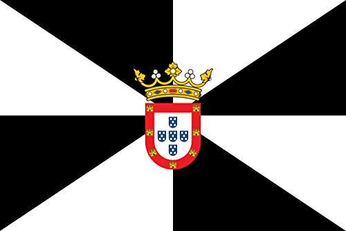 magFlags Bandera Large+ Ceuta | Bandera Paisaje | 1.5m² | 100x150cm