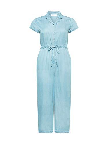 Guido Maria Kretschmer Curvy Collection Damen Jumpsuit Kim Blue Denim 48 (4XL)