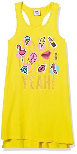 Tuc Tuc Powerful Vestido, Amarillo (Amarillo 14), One Size (Tamaño del Fabricante: 10A) para Bebés