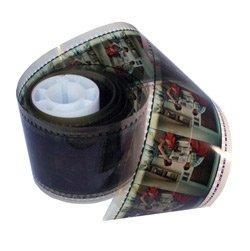 Hollywood Mega 70mm Developed Film Strip - 10 feet