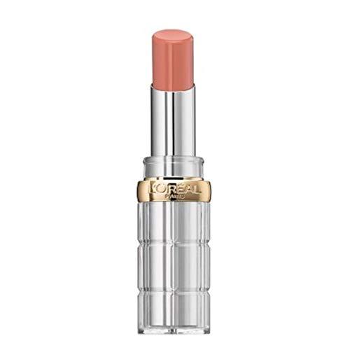 L'Oréal Paris Color Riche Shine 112 only in paris, pflegender Lippenstift für intensive Farbe und natürlichen Glanz