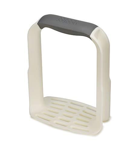 Joseph Joseph 20140 Easy-Mash Ergonomischer Kartoffelstampfer-Weiß, Plastic