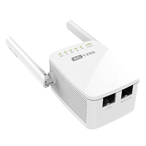 MC.PIG Ac1200 Mesh Wi-Fi Range Extender-N300 Universal Range Extender, Broadband/Wi-Fi Extender, Wi-Fi...