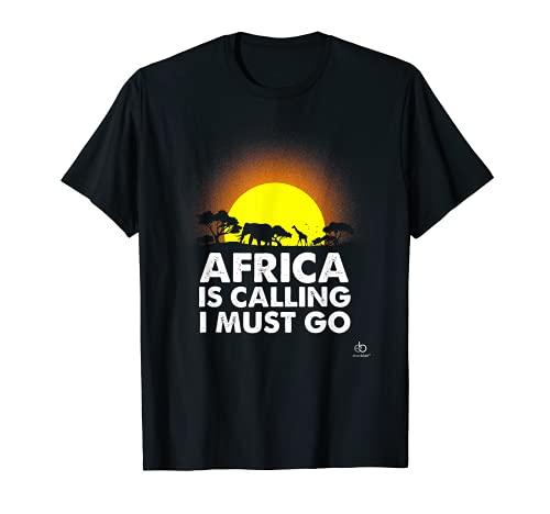 Safari Afrika Tour Natur Urlaub Zoo Outfit Zelt Geschenk T-Shirt