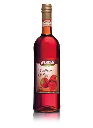 WERDER Erdbeer Wein 0,75L - Alk. 9% vol