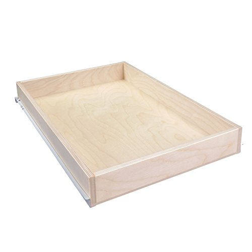 Sliding Pull-Out Shelf For Cabinets (Kitchen Cupboards, Pantry Drawers, Bathroom Storage, etc.) 2 5/8