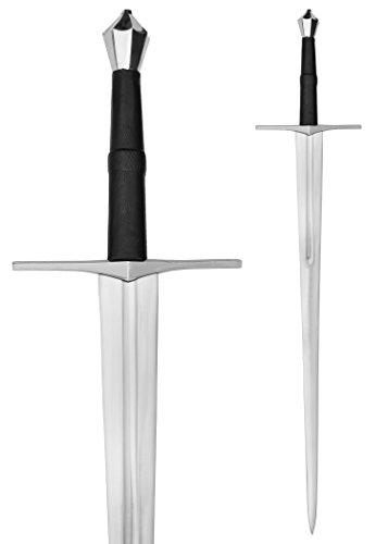 Zweihänder 114cm Kohlenstoffstahl Dekoschwert Mittelalter Schwert two handed sword