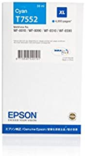 Gorilla-Ink 1 Cartuccia XXL GI7553 Magenta compatibile per Epson WF-8000 WF-8010 DW WF-8090 DTW WF-8510 TC WF-8590 DTWFC WF-6530 MFP 70ml