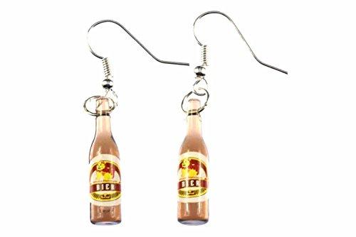 Pendientes botellas de cerveza Held máquina expendedora Miniblings