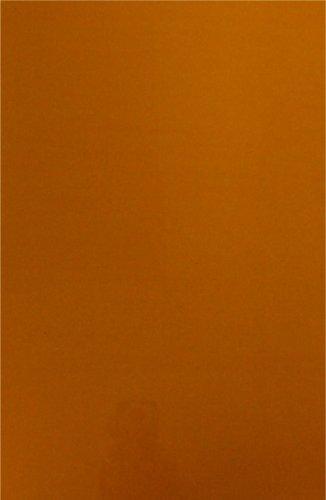 colorcel sjablonen deksel A4 folie – oranje (25 stuks)