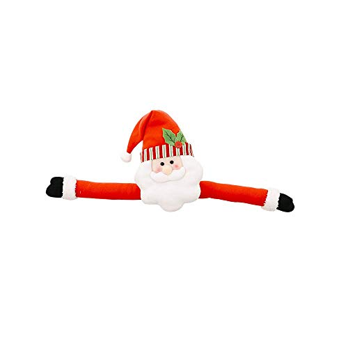 Xisheep New Snowman Christmas Santa Claus Tree Topper Hu g Xmas Indoor Decoration Gifts, Christmas Holiday Party Decoration