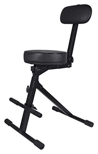 Rockville RDS40 Portable DJ/Guitar/Drum/Keyboard Padded Adjustable Live Sound~Accessories~Chairs/Thrones
