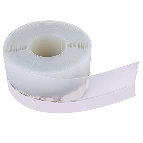 Glomixs Wall Sealing Tape, Transparent Windproof Silicone Sealant Strip, Bar Door Durable Multifunctional Caulk Strip