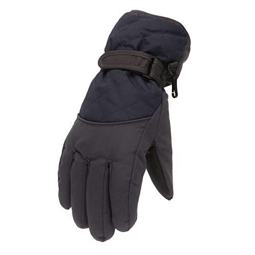 riou Skihandschuhe Kinder Wasserdichte Fäustlinge Warm Winterhandschuhe Outdoor Winddichte Sport Schnee Handschuhe für Alter 6-11 Jahre Junge Mädchen