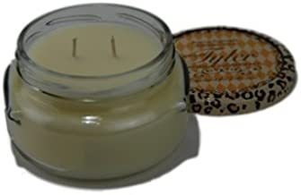 Tyler Candles - Eggnog Scented Candle - 11 Ounce 2 Wick Candle by Tyler Company