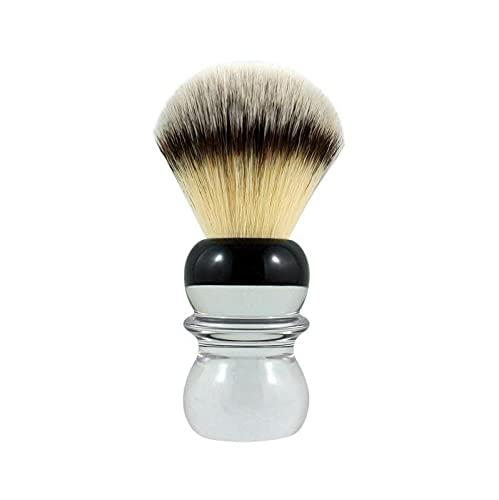 """RazoRock Bc""""Silvertip"""" Plissoft Pennello Da Barba Sintetico 24 mm Knot - 200 ml"""