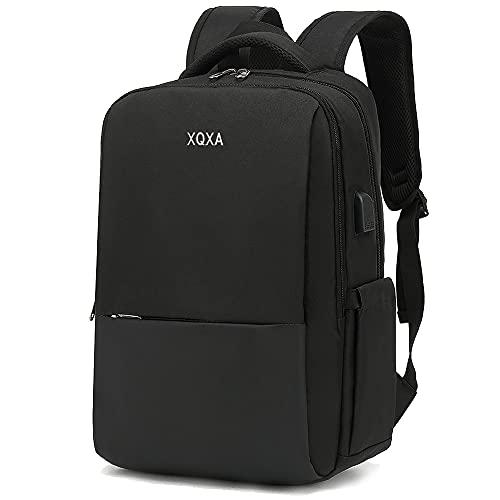 XQXA Mochila para computadora portátil de 15.6 pulgadas