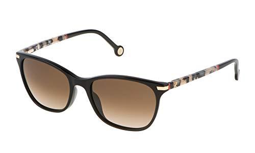Carolina Herrera SHE652V540700 Gafas de sol, Negro, 54 para Mujer