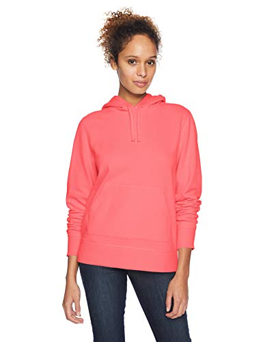 Amazon Essentials French Terry Fleece Pullover fashion-hoodies, Helles Korallenrot, US M (EU M - L)