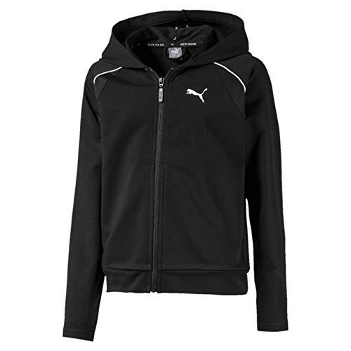 PUMA Mädchen Trainingsjacke Active Sports Jacket G, Puma Black, 140, 580206