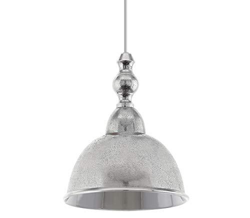 Ambia Home Hängeleuchte, Silber, 110 cm, Metall