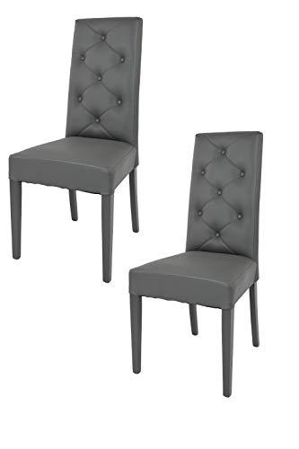 Sillas De Comedor Modernas De Polipiel sillas de comedor modernas  Marca t m c s