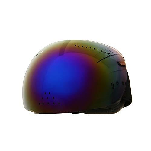 Gafas De Esquí, Gran Superficie Esférica, Gafas De Cara Completa, Nariz Y Nieve, Antivaho De Doble Capa,2