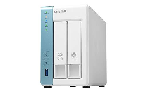 Preisvergleich Produktbild QNAP TS-231K 2-Bay 6TB Bundle mit 2X 3TB Red WD30EFRX