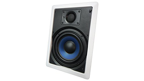652W Silver Ticket in-Wall in-Ceiling Speaker with Pivoting Tweeter (6.5 Inch in-Wall)