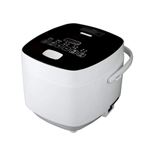 Qdesign Inicio multifunción Inteligente Arrocera 24 Horas Designación Touch Operación de Acero Inoxidable fácil de Limpiar Antiadherente Interior Cocina Artículos for cocinar