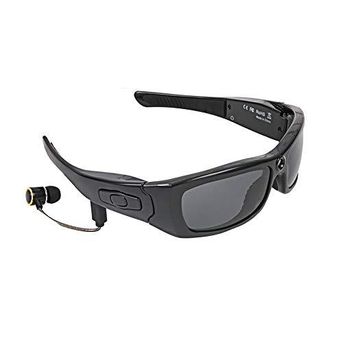 JAQ Gafas de Sol Inteligentes cámara de vídeo de la cámara HD 1080P Auriculares estéreo Bluetooth Vidrios con la Tarjeta de Memoria de 8 GB para la conducción Deporte Ciclismo Viajes Regalo