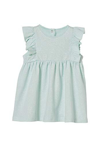 Vertbaudet Baby Mädchen Kleid Aqua Bedruckt 86