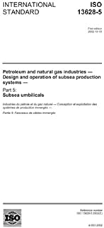 ISO 13628-5:2002, Petroleum and natural gas industries - Design and operation of subsea production systems - Part 5: Subsea umbilicals