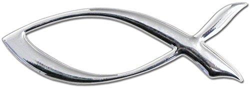 °°1615 Auto-Aufkleber 3D-Design Fisch