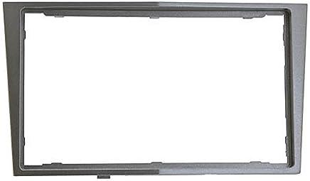 meins24 ohg - Marco para radio de coche OPEL Astra H, Corsa D, Zafira B, Antara, Tigra y Astra Twin Top (2 DIN), color negro claro