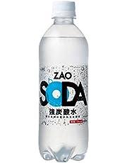 炭酸水 ZAO SODA 強炭酸水 500ml×24本 (プレーン)