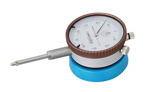 Accusize Industrial Tools Magnetic Back with 0-1'' by 0.001'' Dial Indicator, Eg08-1600