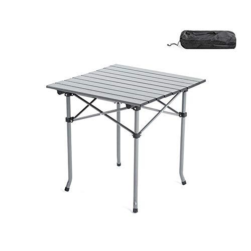 WYYH Campingtisch Klappbar Leicht, Oxford-Stoff Aus Aluminiumlegierung Camping Klapptisch Mit Aufbewahrungstasche Klapptisch Tisch Klappbar Verwendet Für Picknick Camping Strand Barbecue Small