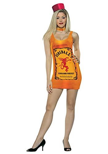 Rasta Imposta Women's Fireball Bottle Costume