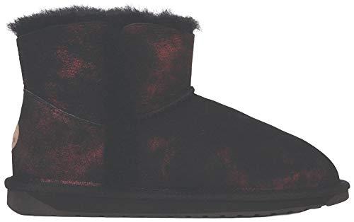 EMU Australia Womens Stinger Micro Spray Winter Real Sheepskin Boots Size 11 EMU Boots Black